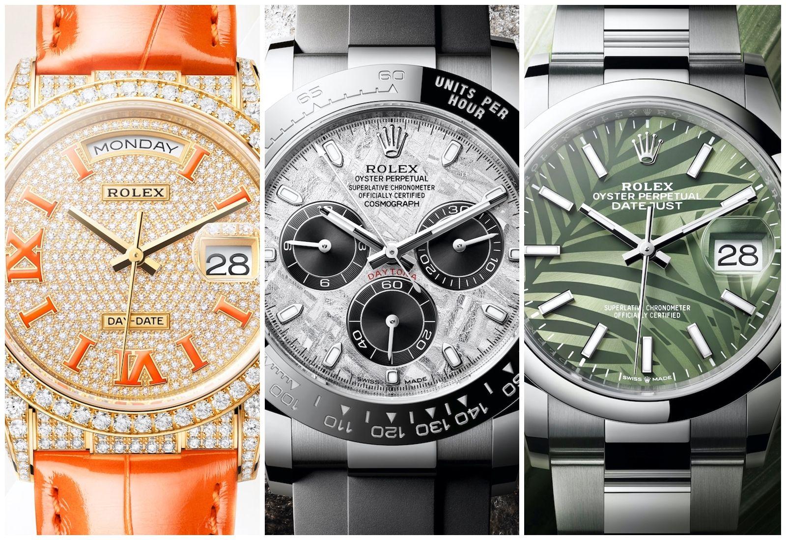 2021勞力士Rolex新錶來了!新一代Explorer探險家型、隕石面Daytona、滿天星鑽錶…3大亮點搶先看!