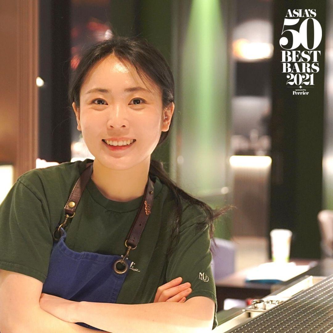 2021亞洲50最佳酒吧前哨獎公布! 台北MU: Bannie Kang獲選曼奇諾獎最佳調酒師