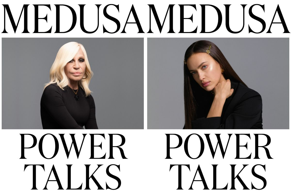 Versace 也來 CH 開房!創意總監 Donatella 攜手布萊德利庫柏前妻 Irina Shayk 直播談女性自強