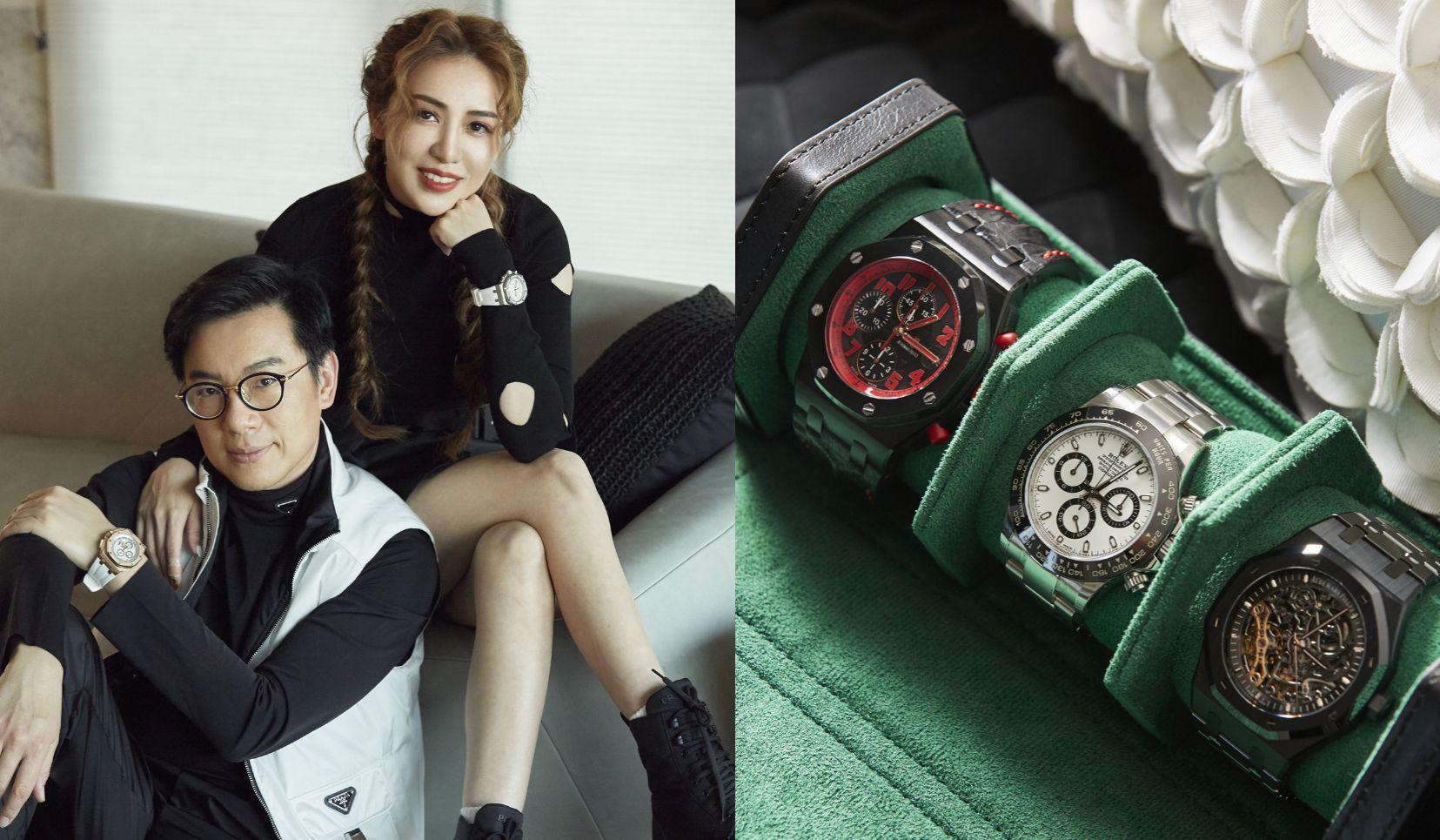 鐘錶收藏家呂皇甫與黃季薇 腕錶收藏觀點分享:「每一個階段你所收的錶,都可以看得出來你現在的人生歷練,跟你所達到的里程碑」