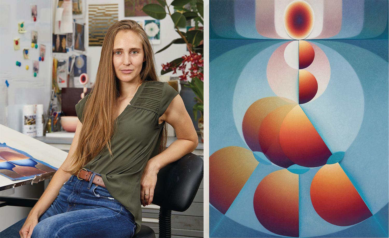 懷孕啟發的當代藝術創作!鄧文迪也收藏的美國藝術家Loie Hollowell