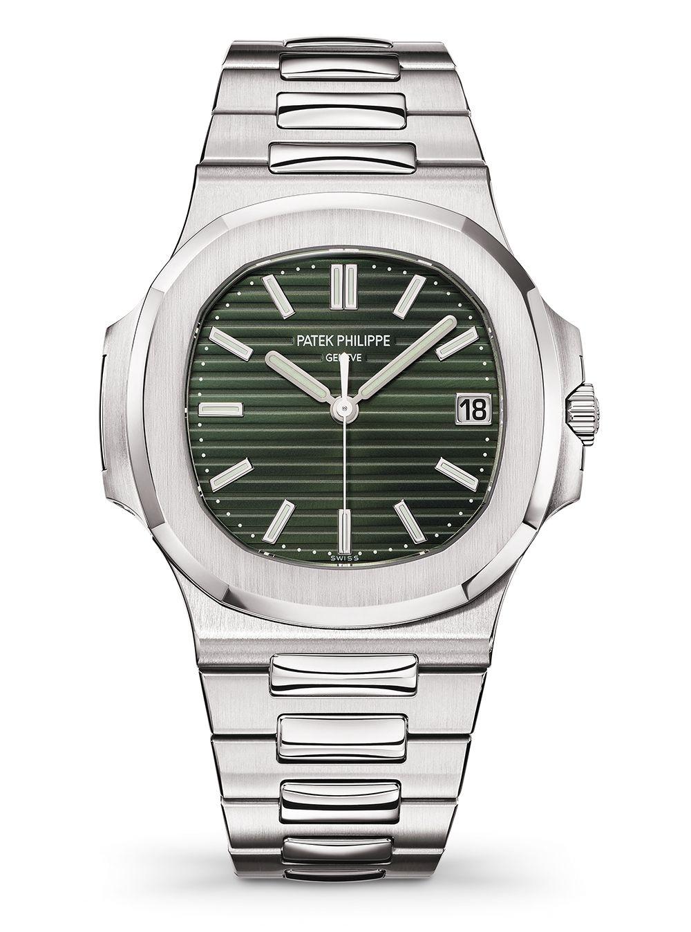 Nautilus金鷹系列5711/1A腕錶by Patek Philippe。