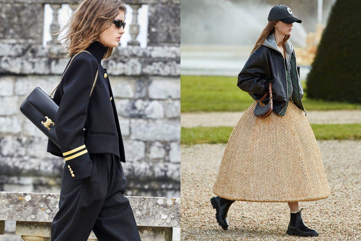 Celine 2021秋冬 Triomphe 包出現燒心鏈帶款!19套新裝帶來實用穿搭靈感