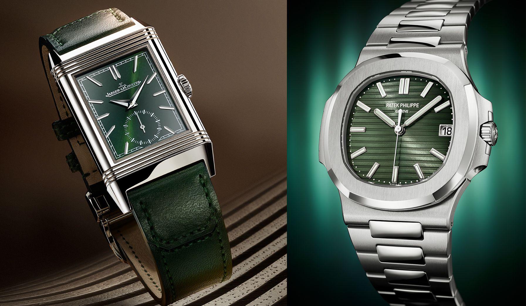 2021鐘錶與奇蹟Watches & Wonders趨勢重點一:綠色腕錶