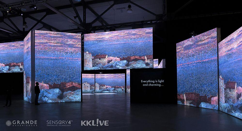 2021「印象‧莫內—光影體驗展」。