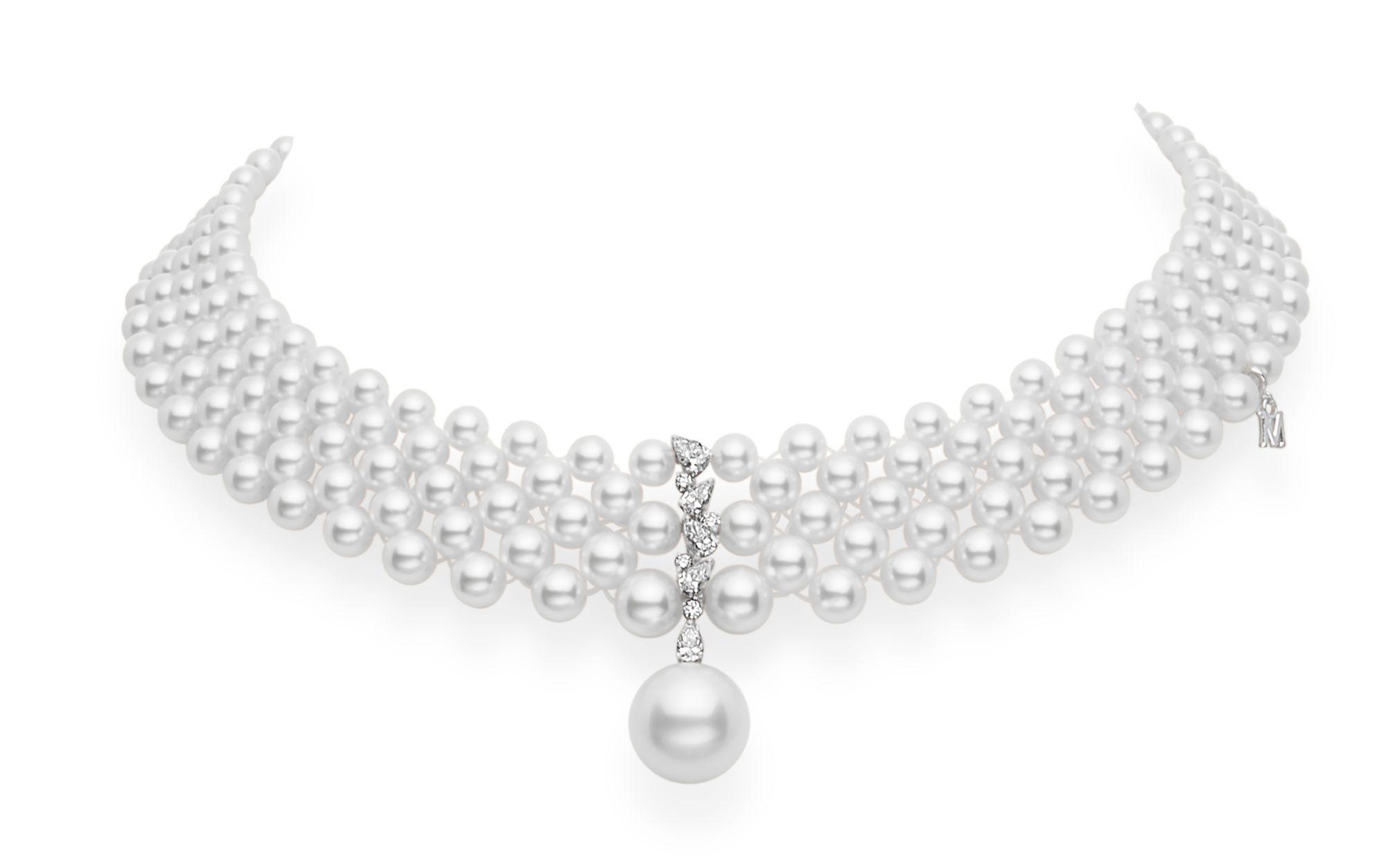 珍珠鑽石頸鍊,參考價格 NT$1,550,000