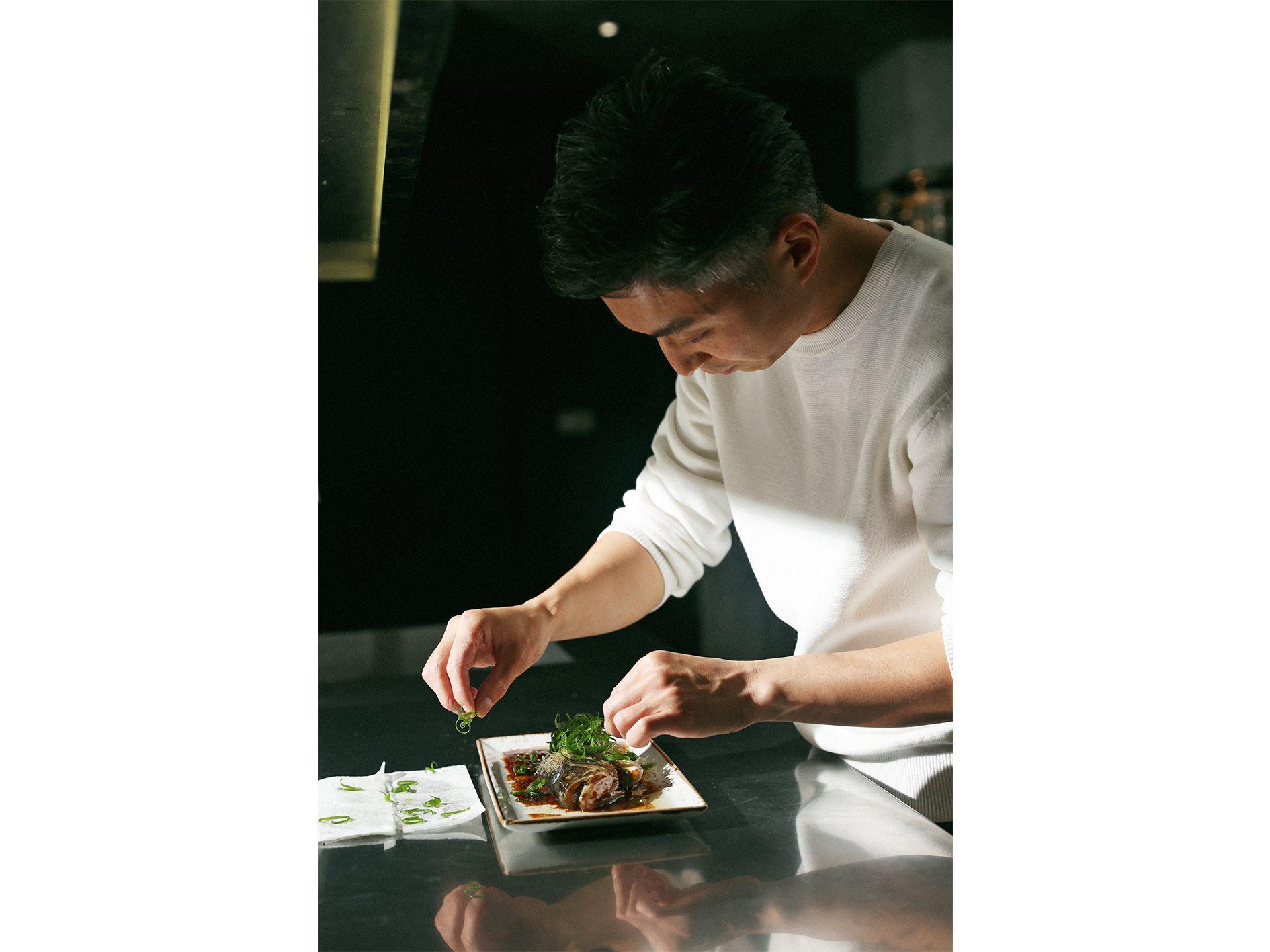 林泉想念香港味時經常做港式蒸魚來一解鄉愁