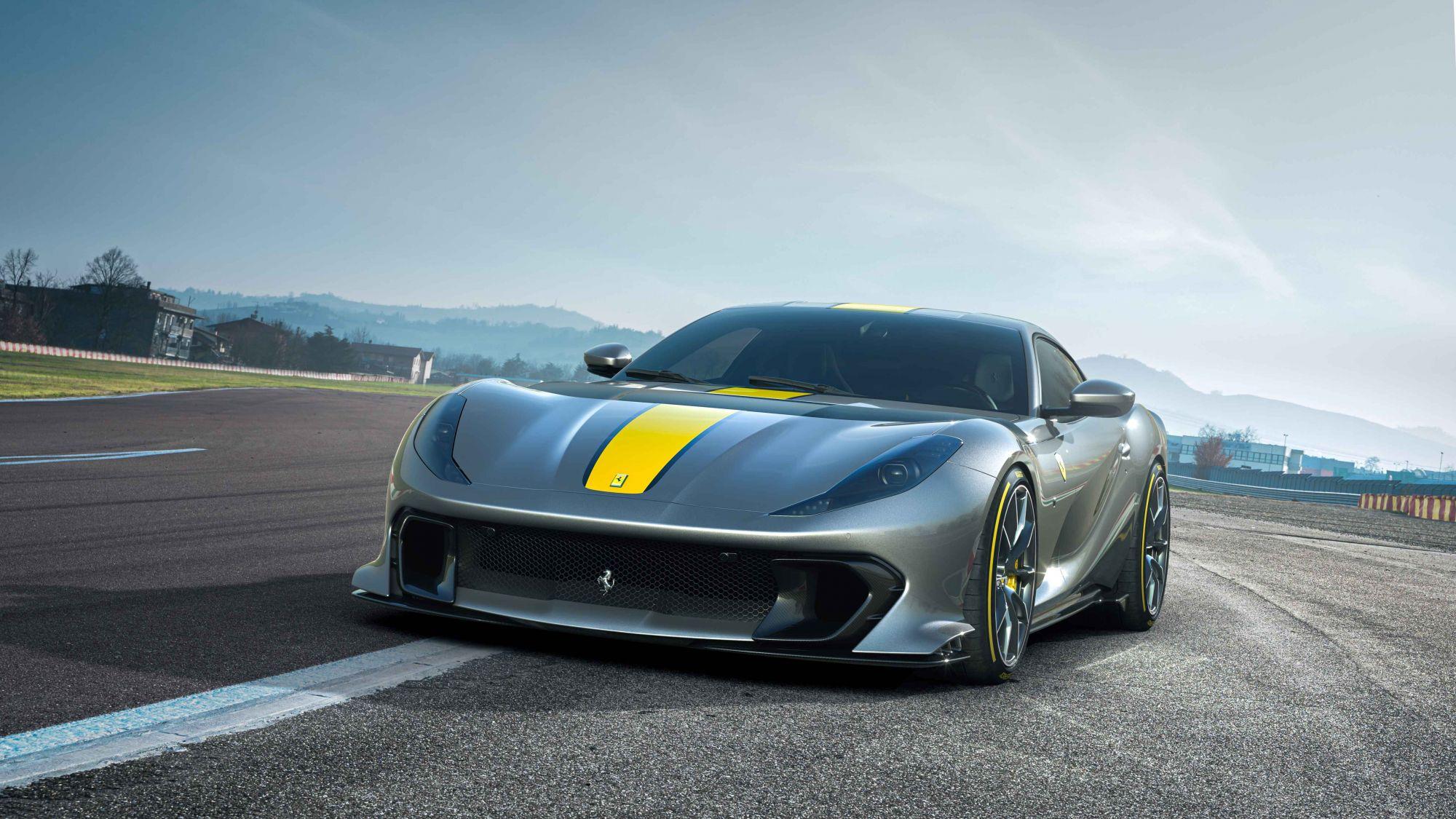 Ferrari法拉利全新V12限量版車型搶先曝光!