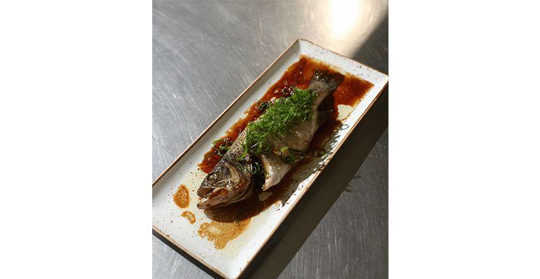 林泉說港式蒸魚主要就是品嚐食材的原味及鮮度