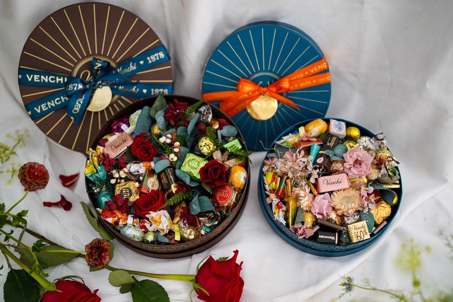 2021母親節禮物推薦:製造浪漫首選!義大利百年品牌Venchi推巧克力玫瑰花禮