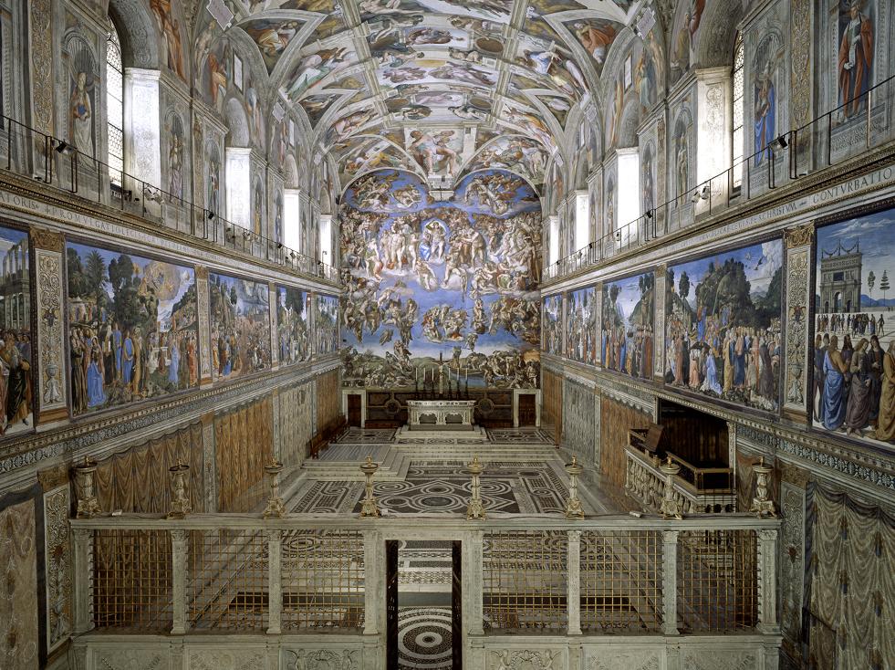 《西斯汀禮拜堂壁畫全集》文藝復興的曠世神作!要價近70萬、全球限量僅600本,誠品亞洲獨家首賣