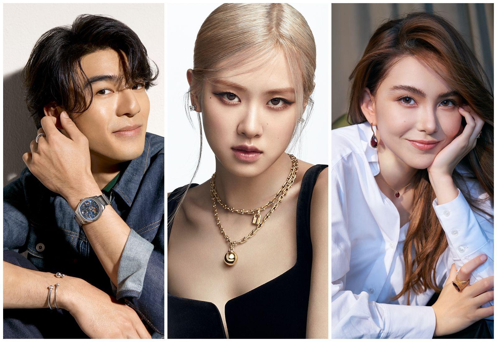BLACKPINK Rosé、Lisa、陳昊森……珠寶品牌代言人年輕化,比人氣更要比帶貨力!