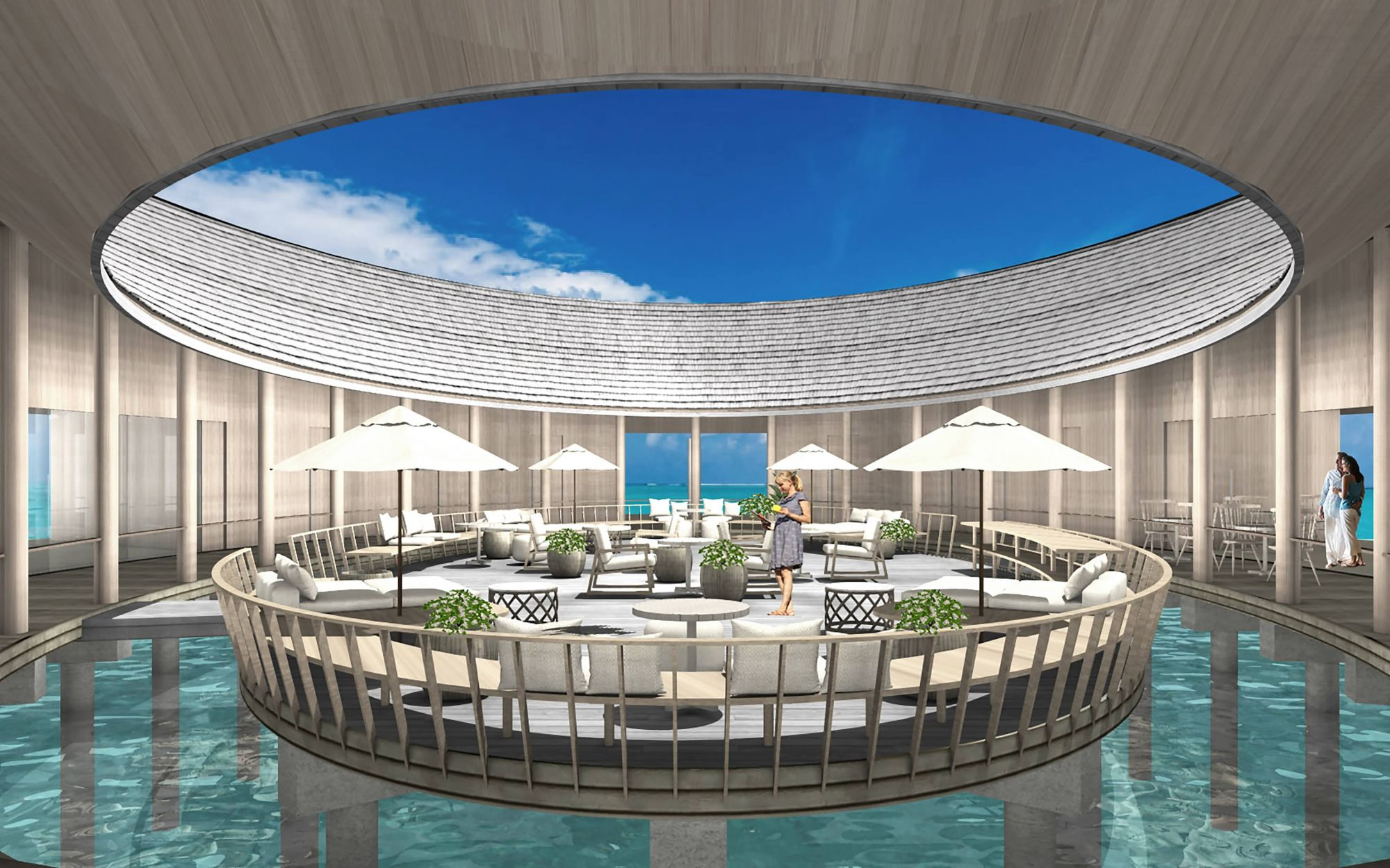 馬爾地夫 Kagi Maldives Spa Island 奢華度假村全新開幕,「360°水療中心」零死角欣賞絕美海景