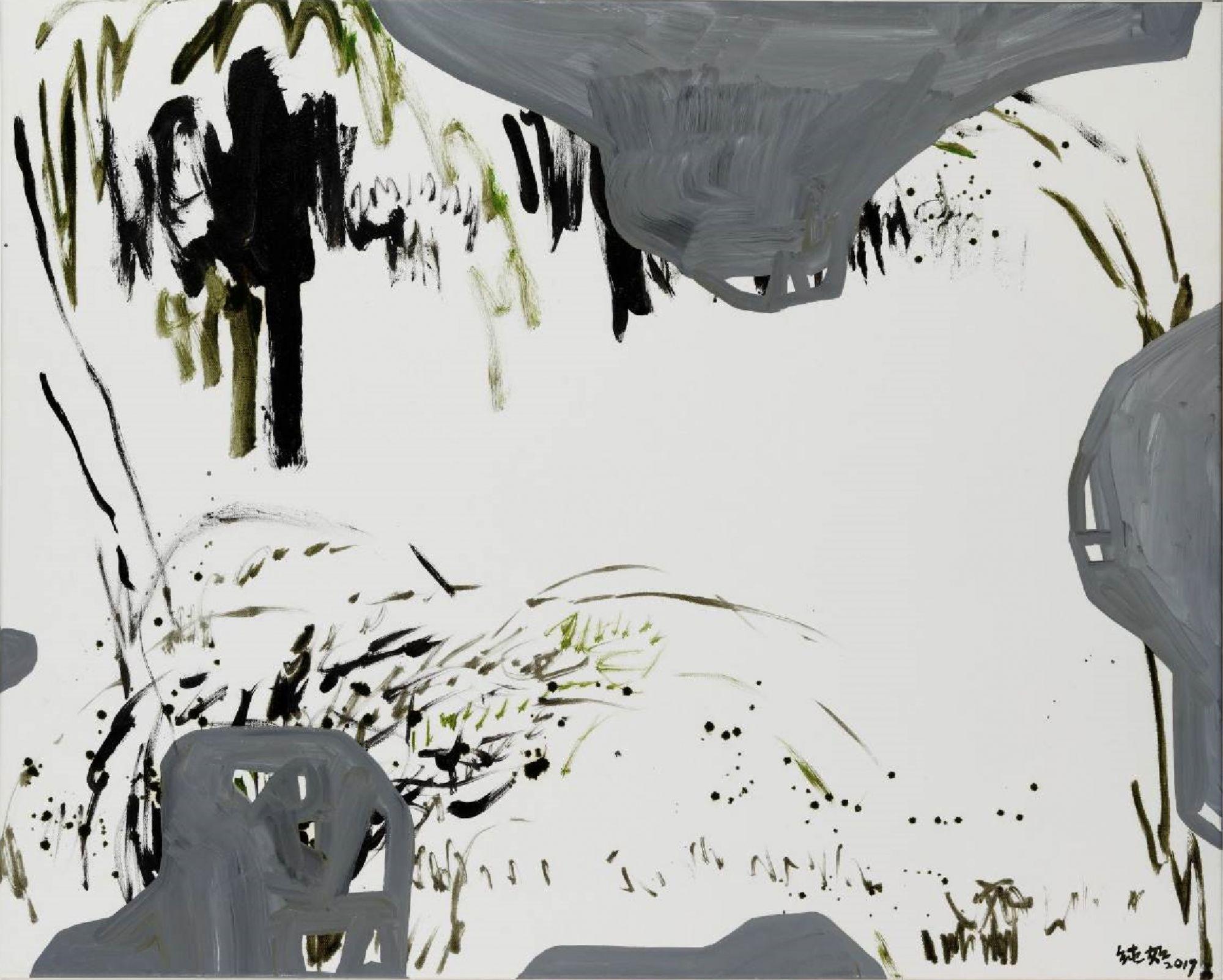 林純如〈野草系列003〉。(圖/双方藝廊提供)