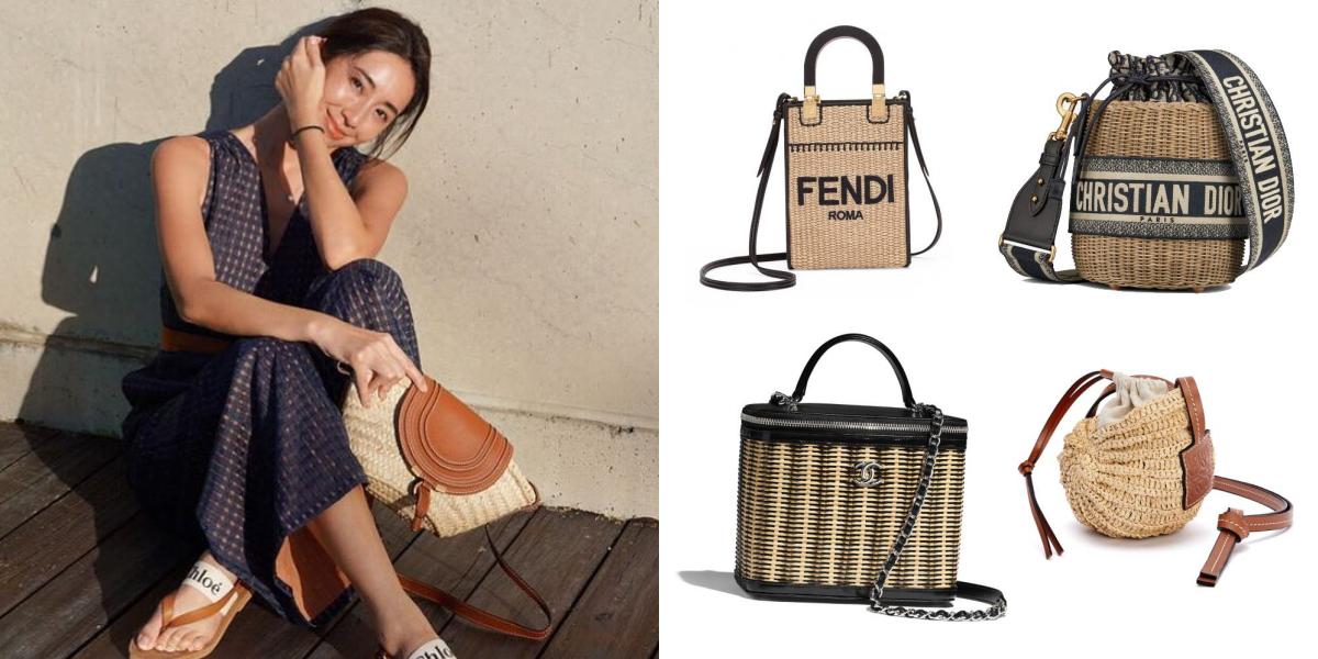 2021 夏日必備!CHANEL、Dior⋯推薦 10 款自帶度假氛圍的名牌編織包