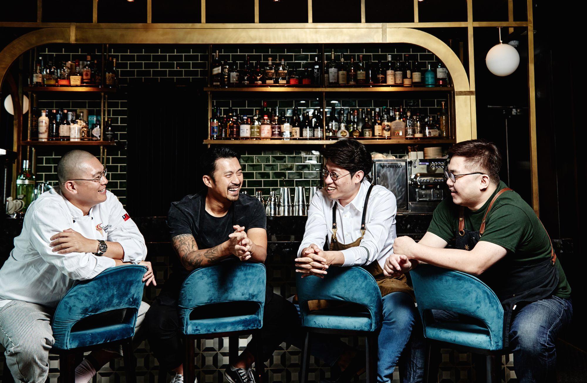 米其林星廚林明健聯手台南Bar TCRC、Bar INFU與蜷尾家,八手聯彈微醺夜 3大亮點搶先看!