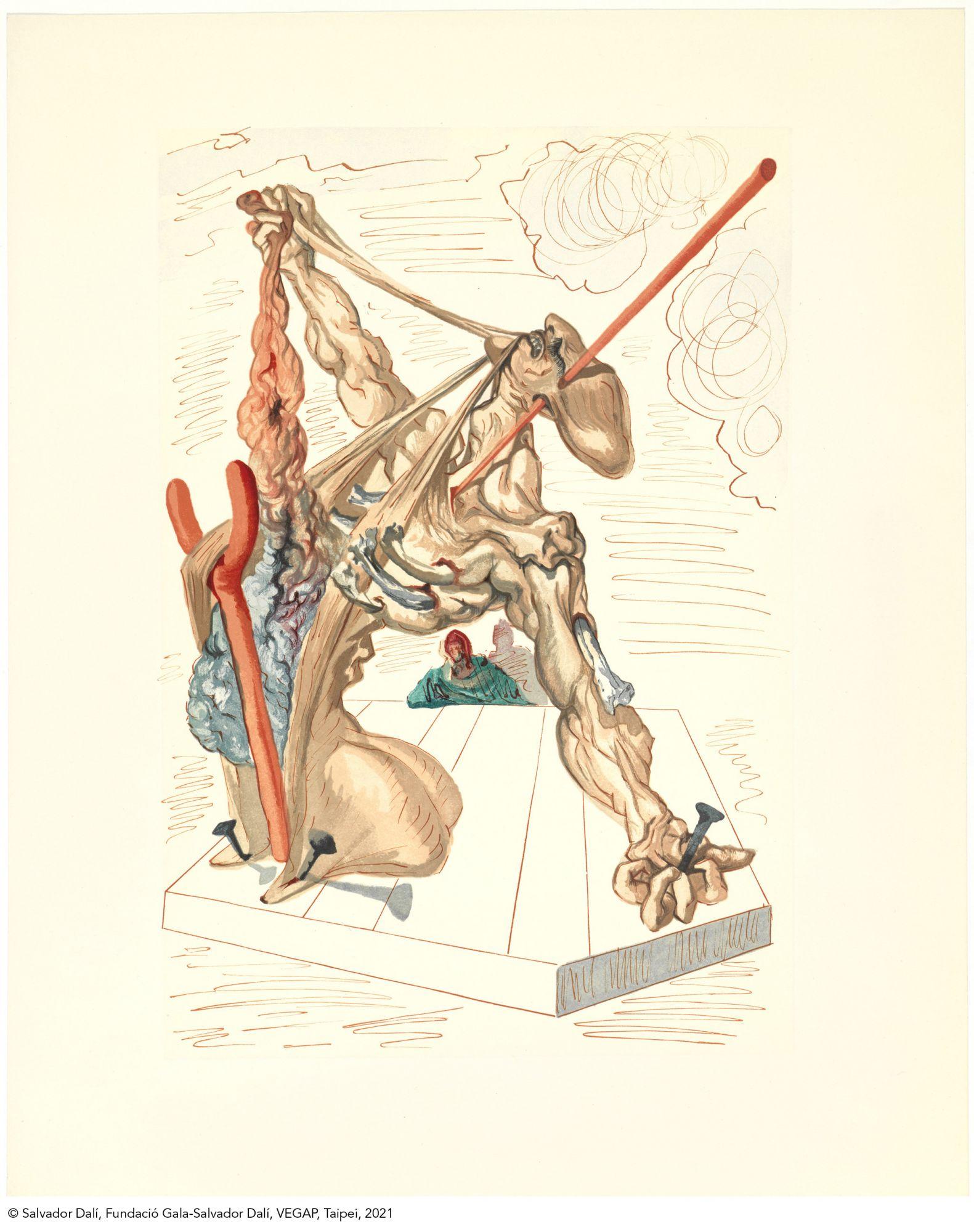 《神曲》偽造者Les Falsificateurs. Illustration for La Divine Comèdie。(圖片提供/時藝多媒體)