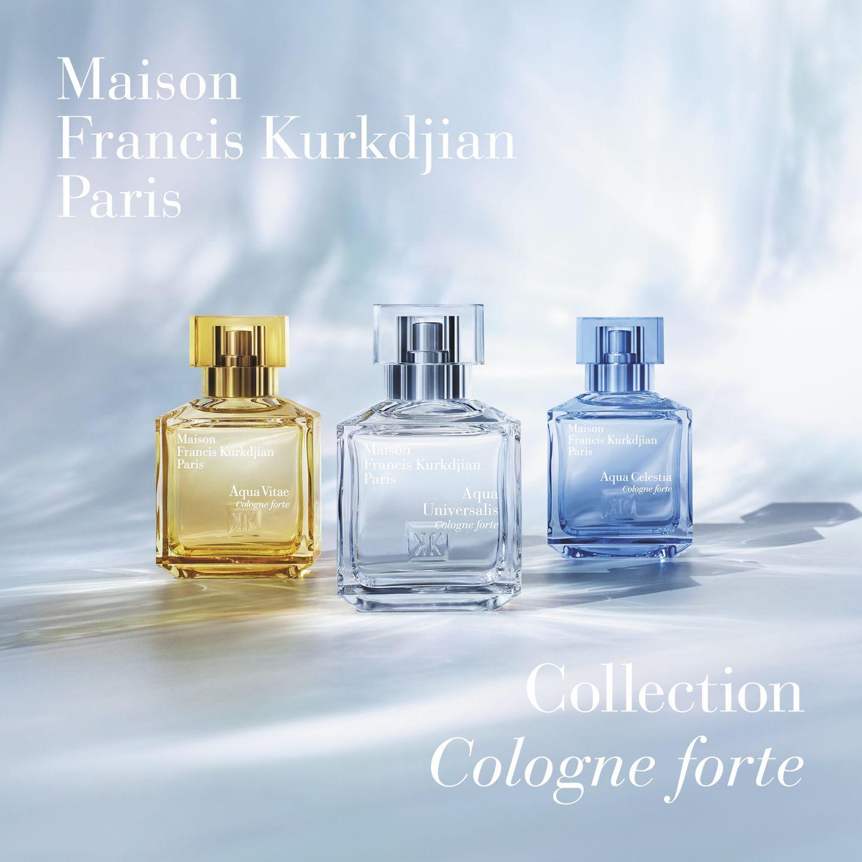 與法國調香大師Francis Kurkdjian聊聊2021年MFK全新創作:古龍forte淡香精,「穿上它,能讓你感覺愉悅!」