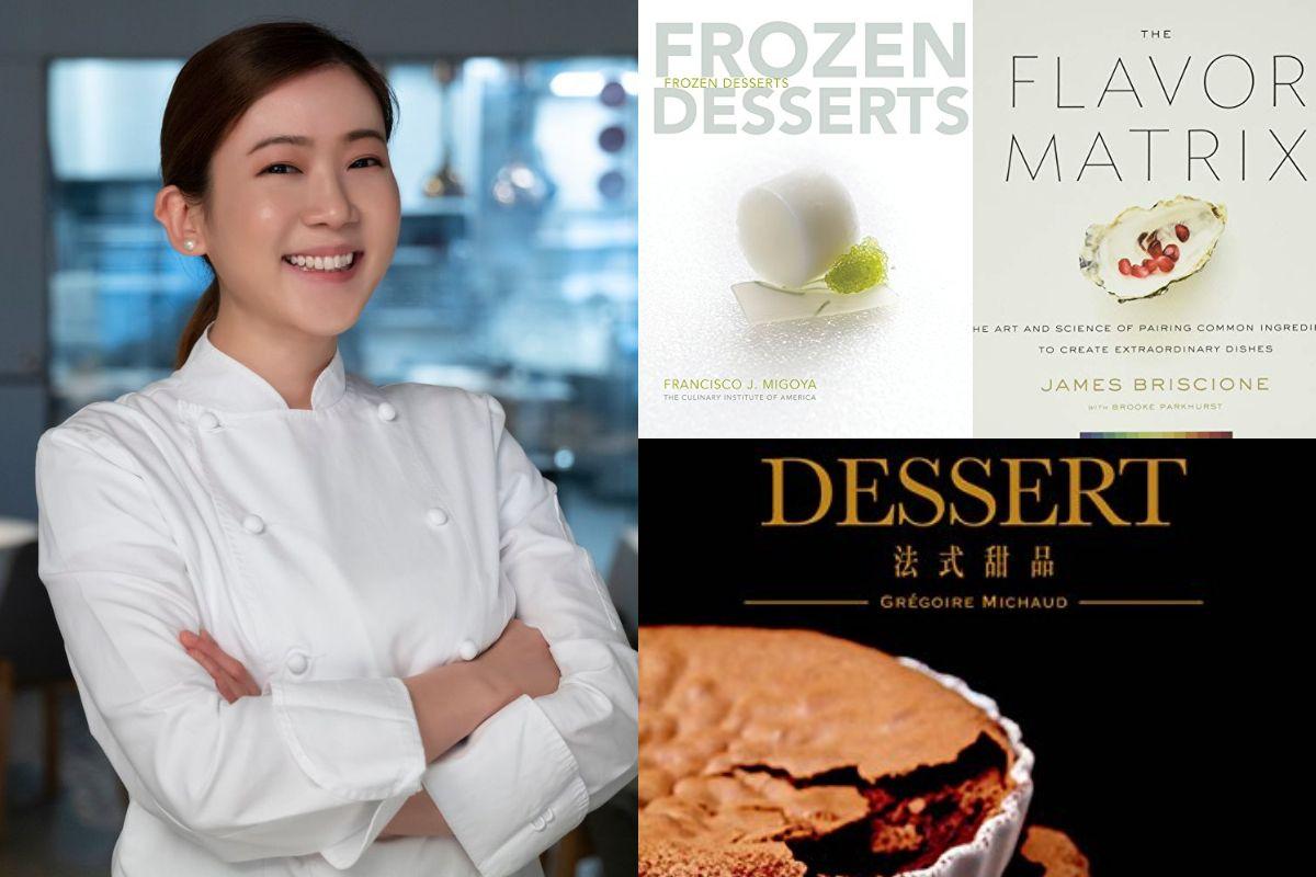 吃貨的必收藏書單!「2021亞洲最佳甜點主廚」賴思瑩 3 本私房讀物大公開