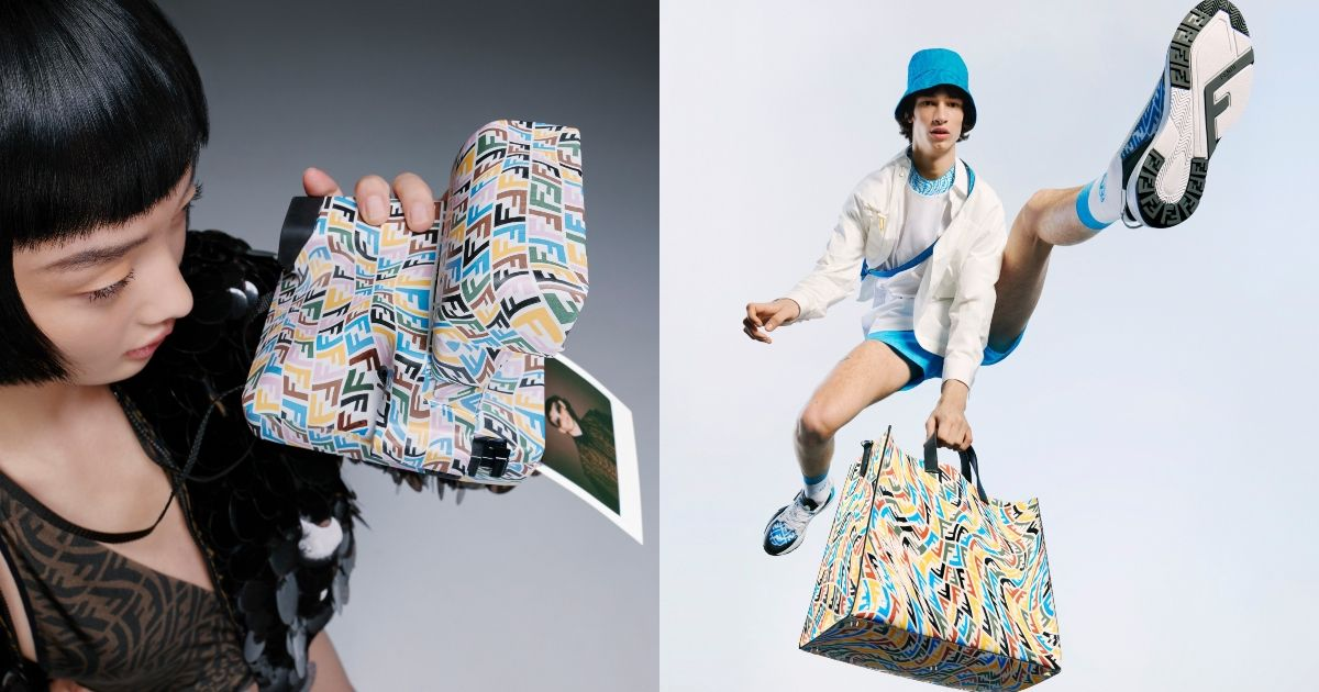 Fendi x Polaroid 合推聯名拍立得相機,經典 FF Vertigo 圖案躍上機身超時髦!