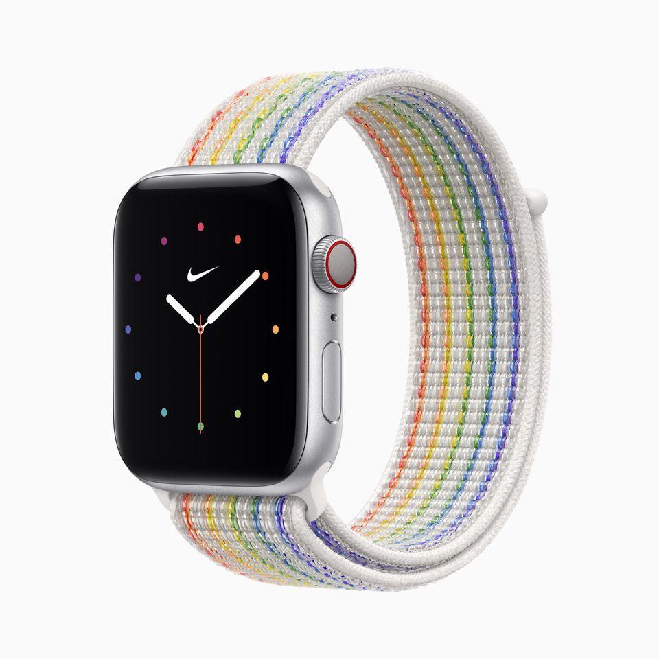 彩虹版 Nike 運動型錶環,售價 NT$1,600