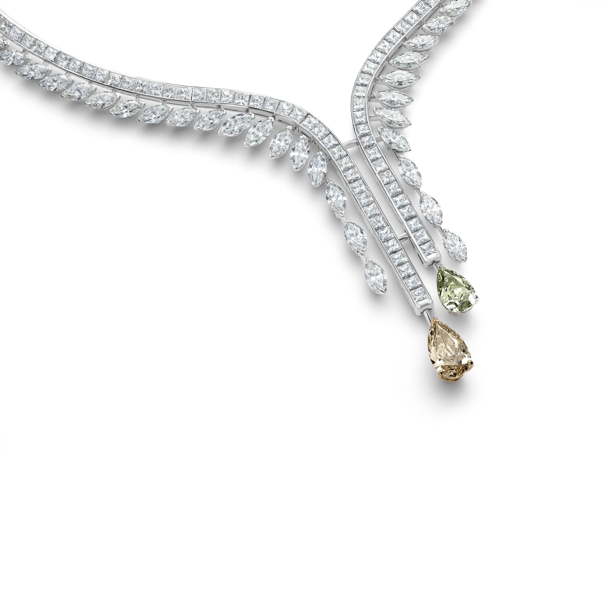 Diamond Legends by De Beers 系列 Cupid 高級珠寶鑽石項鍊
