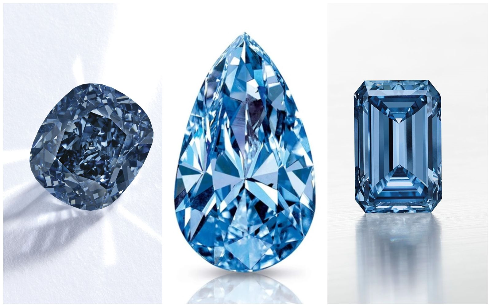 超過 11 億新台幣、40 克拉藍鑽被 De Beers 收購!盤點世界上最珍貴的 5 顆藍鑽珠寶