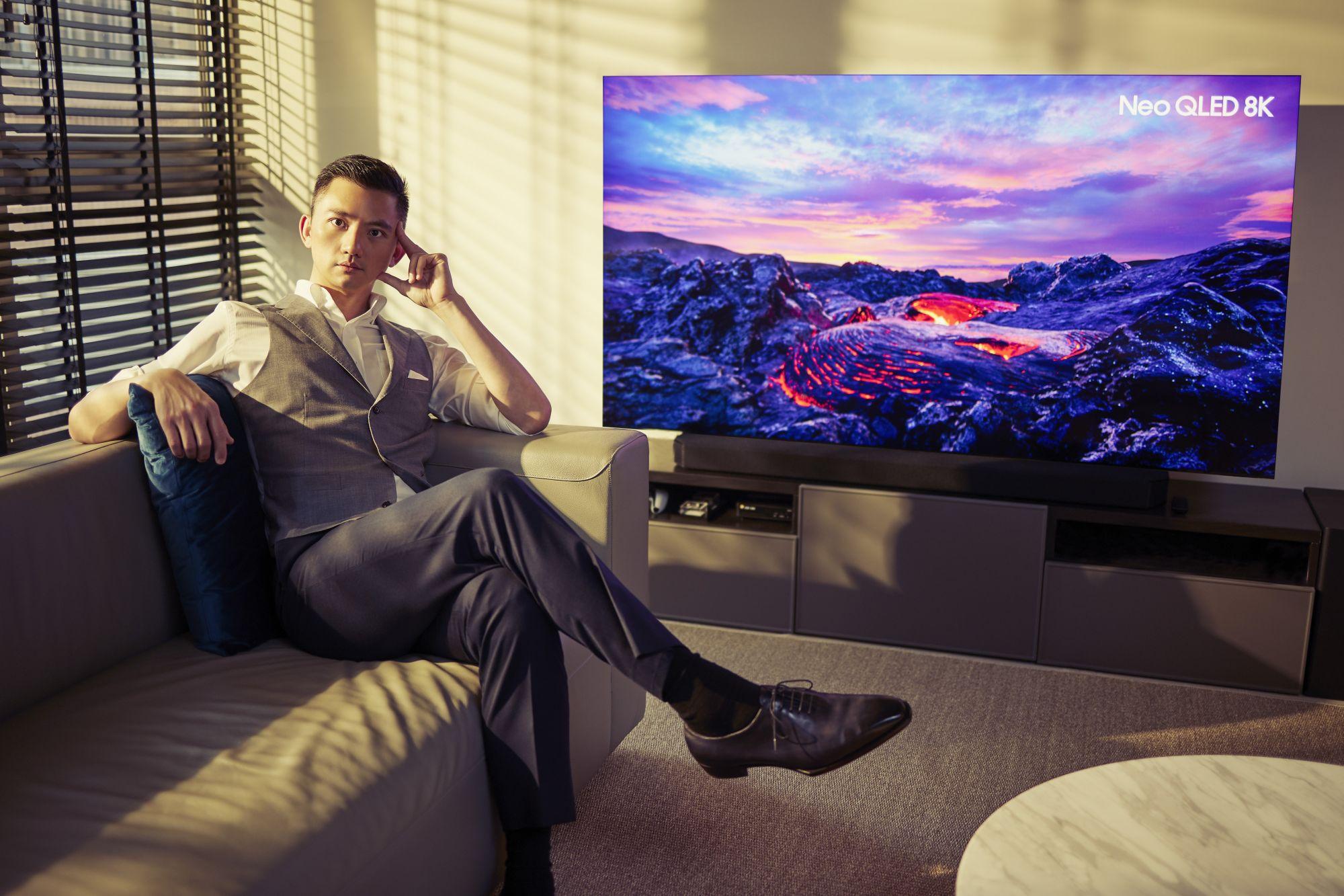 2021高顏「質」居家提案!Samsung Neo QLED 8K 量子電視 陳彥誠