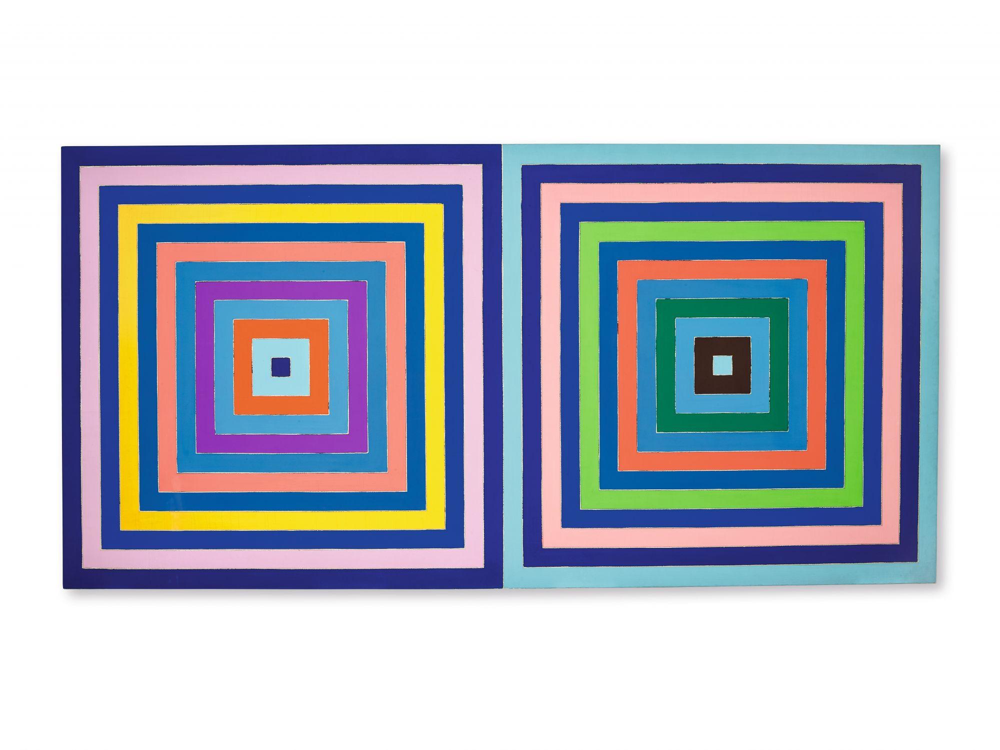 弗蘭克 ∙ 斯特拉(Frank Stella) 《無題(雙同心正方形)》