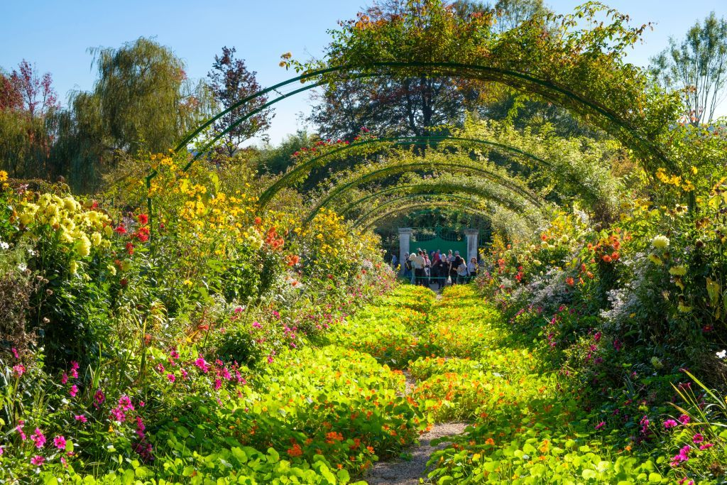Claude Monets house and Gardens in Giverny, France. (Photo by: Jumping Rocks/Universal Images Group via Getty Images)