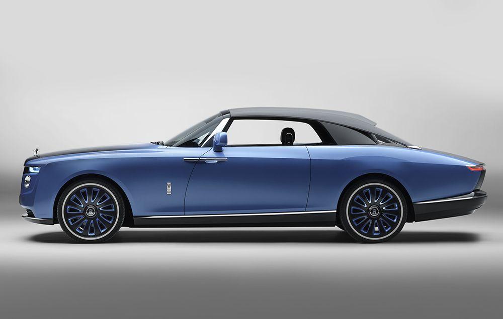 勞斯萊斯 Rolls-Royce 訂製「Boat Tail」 車款。
