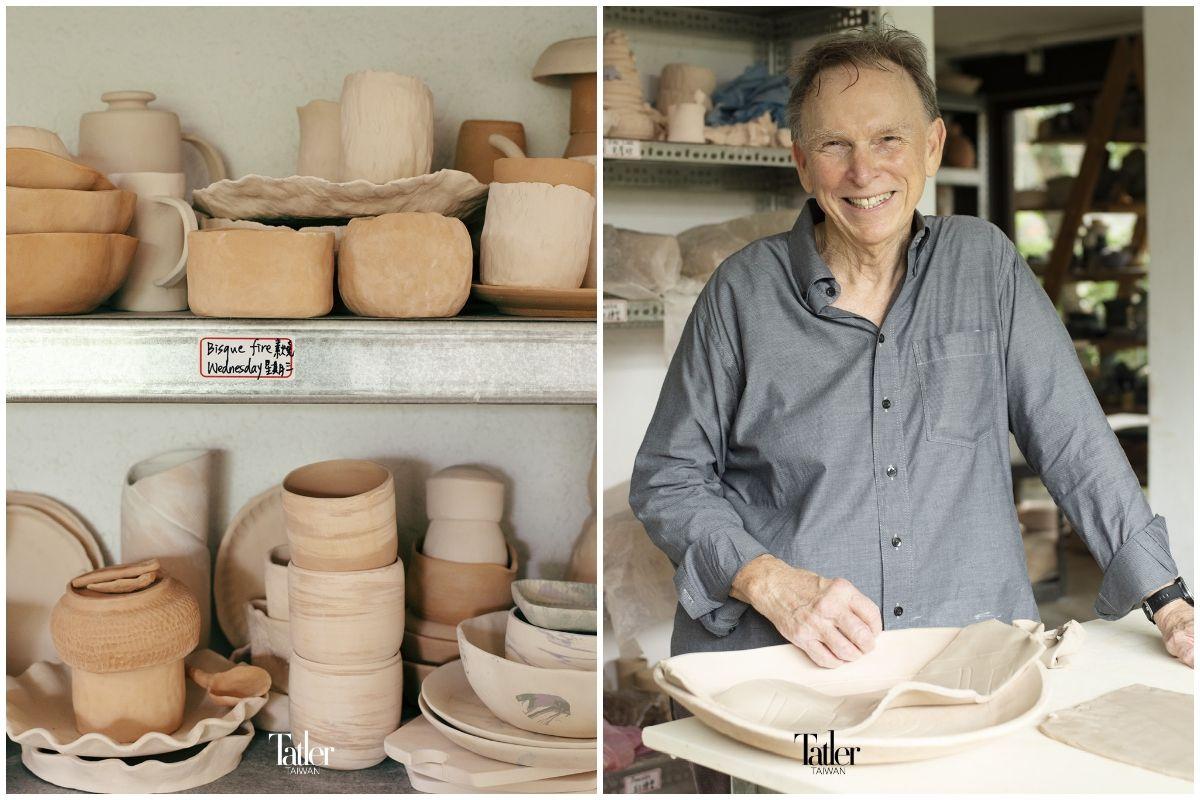 陽明山竟然有這樣的好地方!「雲森陶陶」創辦人 David Pipkin 在山水之間,用陶藝陶冶心靈