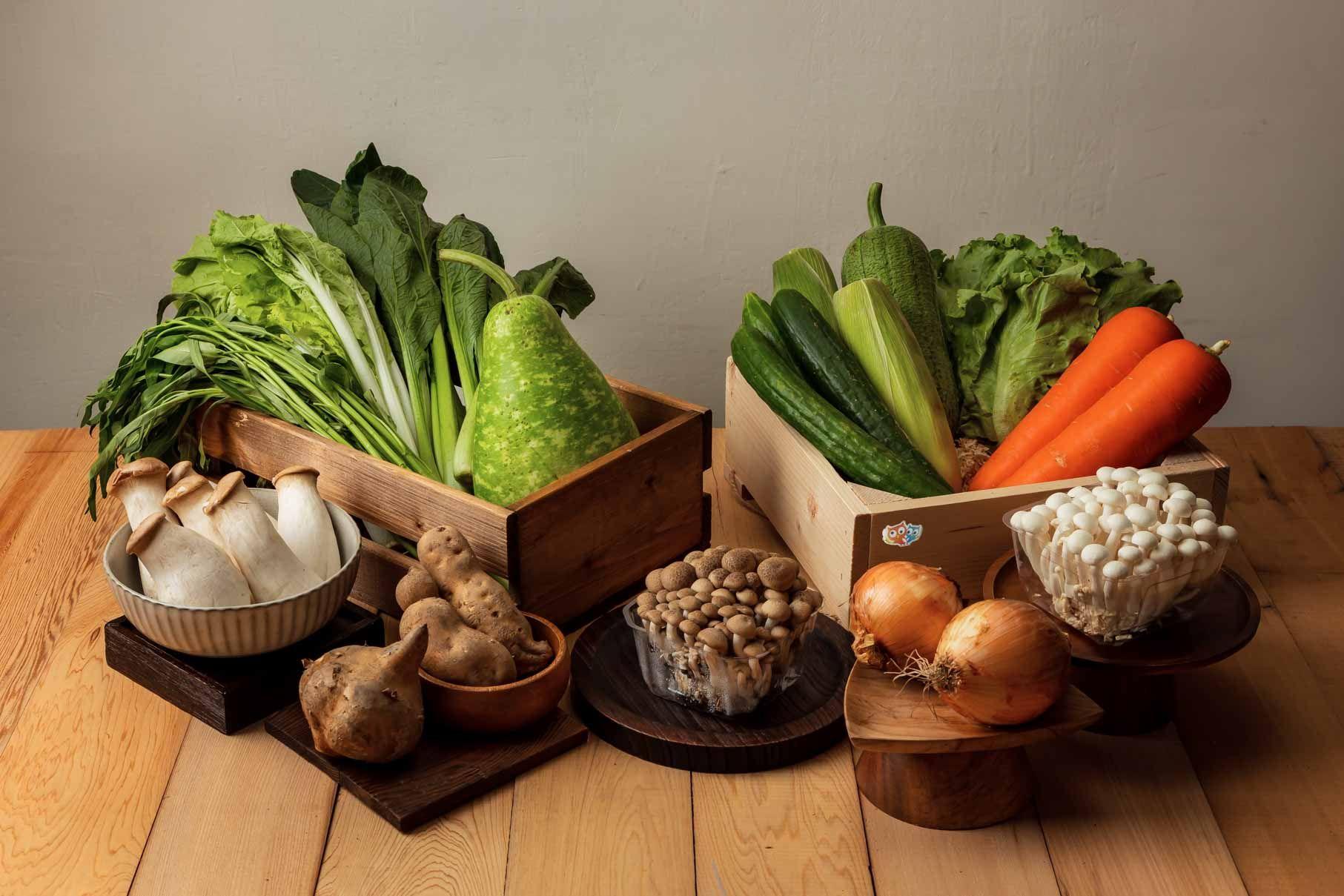 三級警戒延長蔬果囤貨怎麼保存?奧丁丁市集推出全新蔬菜箱,官網下訂食材新鮮到府