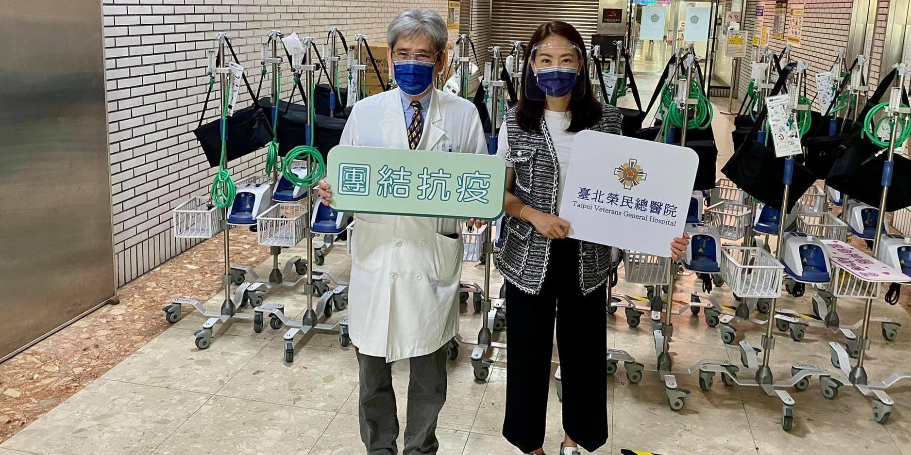 賈永婕捐贈物資超暖心,攜手各企業「神隊友」一起支持第一線醫護人員!