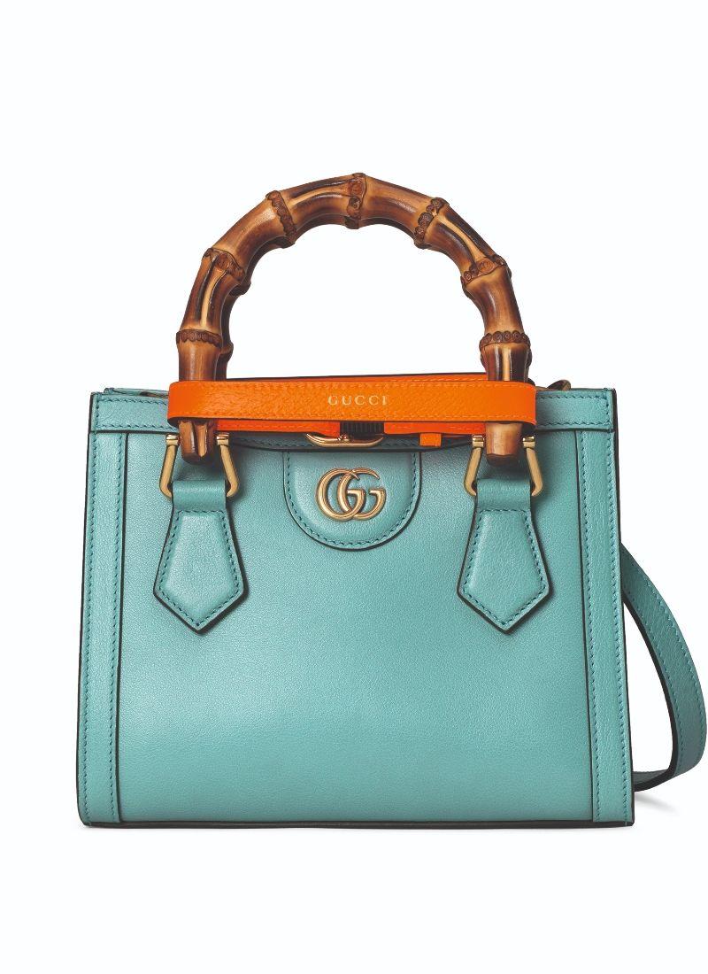 Gucci Diana 藍色迷你手提包 $ 95,000