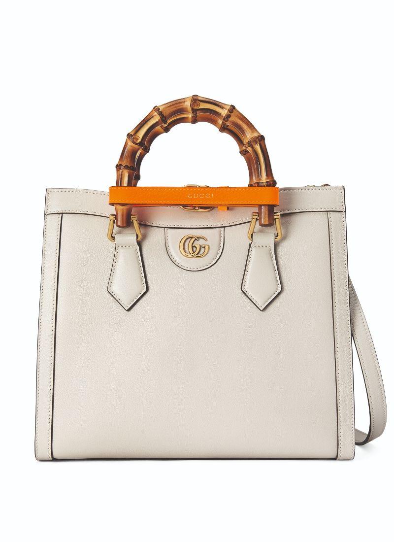 Gucci Diana 白色小型手提包 $112,000
