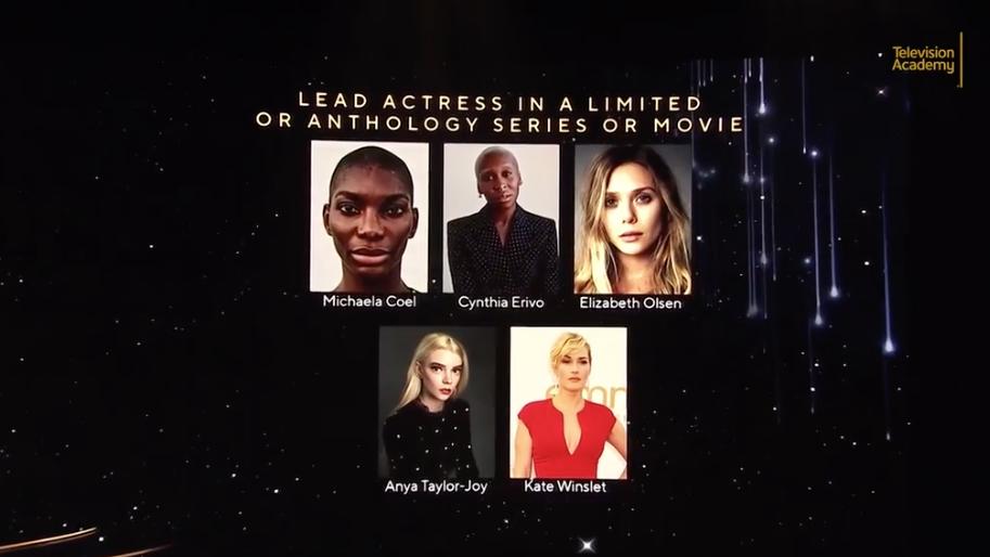 第 73 屆艾美獎「迷你劇集/電視電影女主角」入圍者