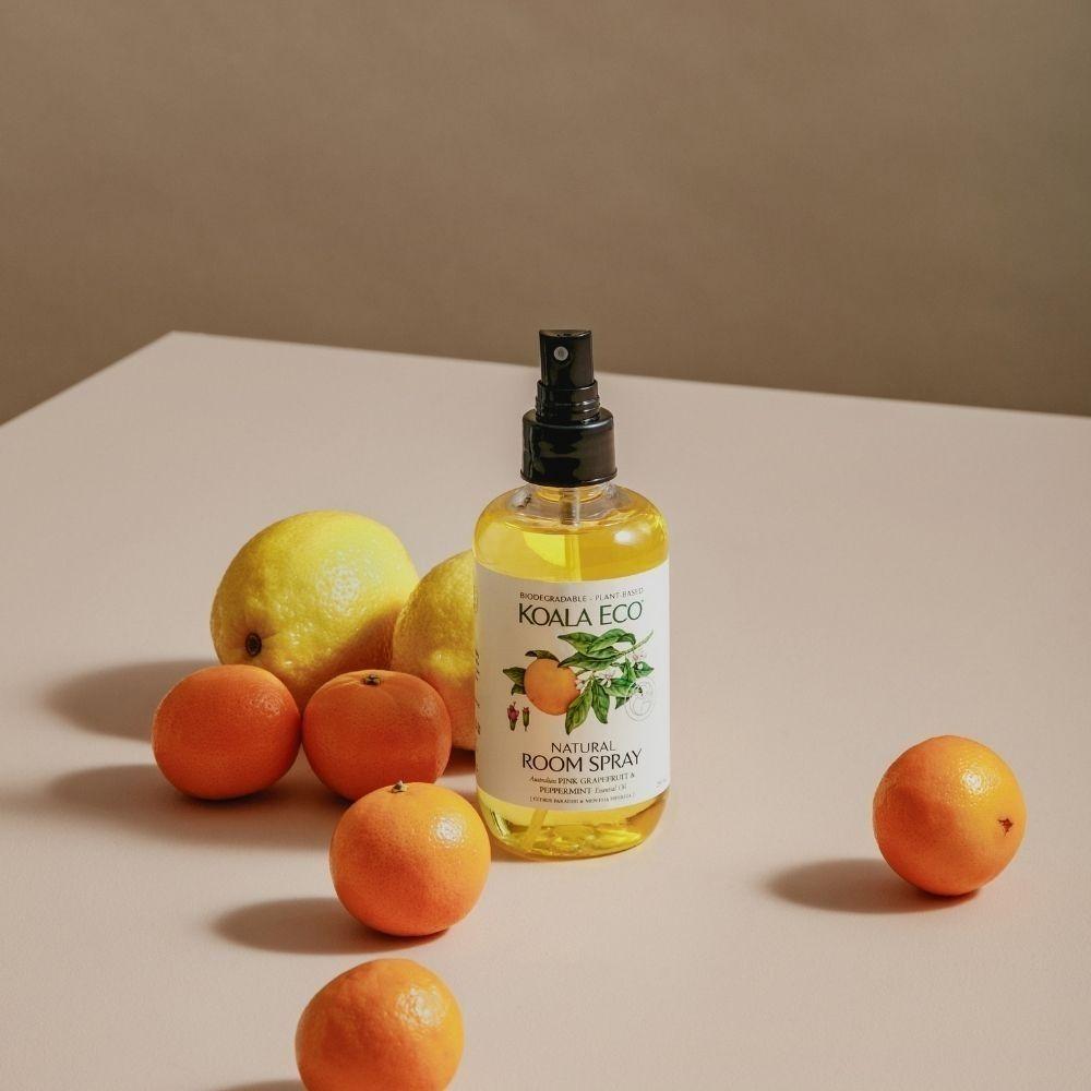 「誠品生活expo」推出香檸、甜橙、葡萄柚香氛淨化空氣、提振精神。