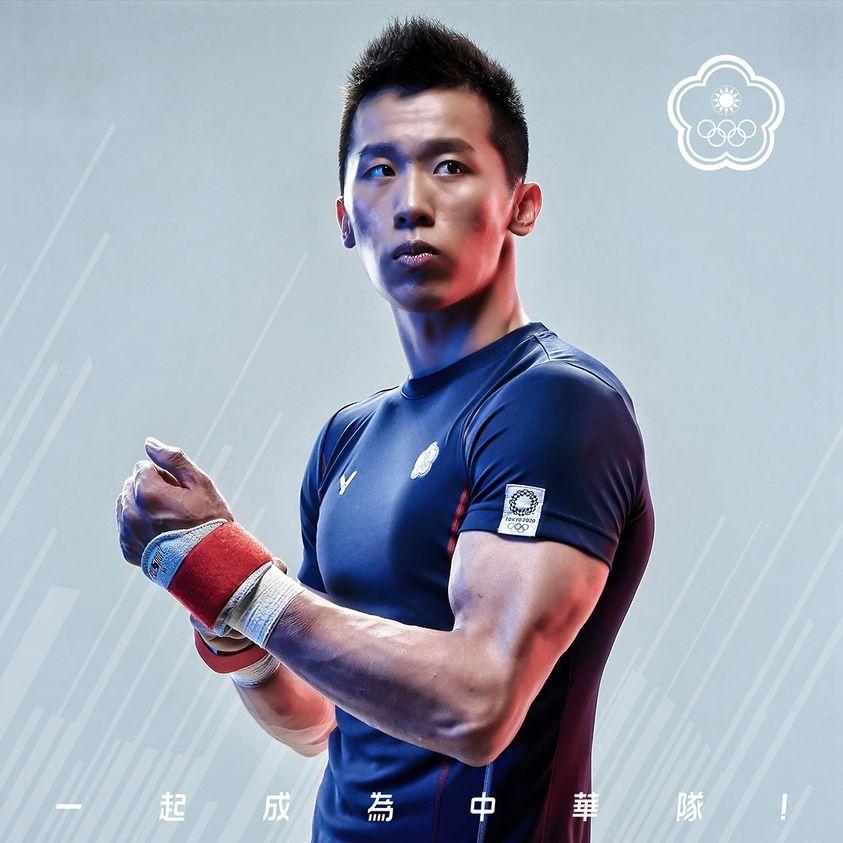 李智凱。(圖片來源/中華奧會 Chinese Taipei Olympic Committee@Facebook)