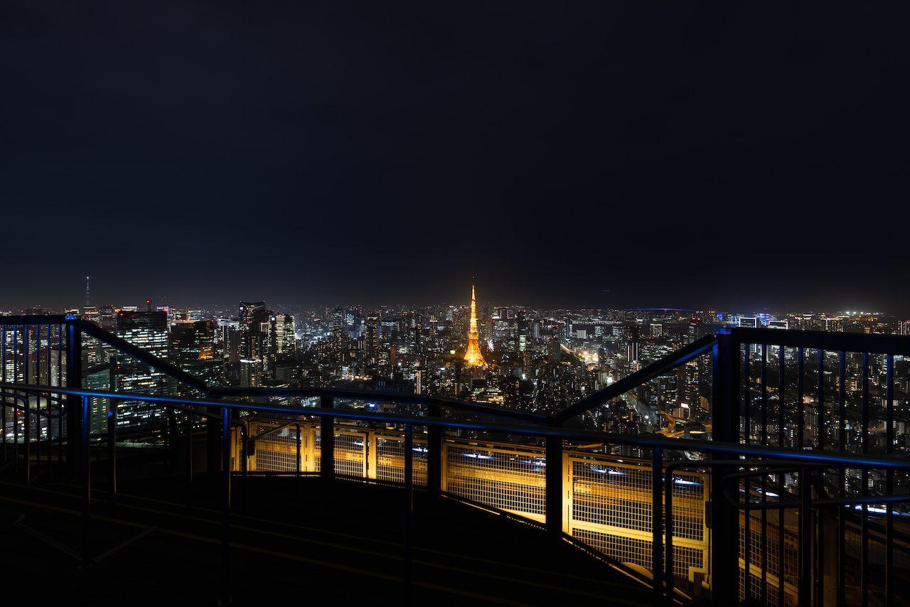 Sky Deck的燈光和東京夜景(圖片提供:森大廈株式會社)