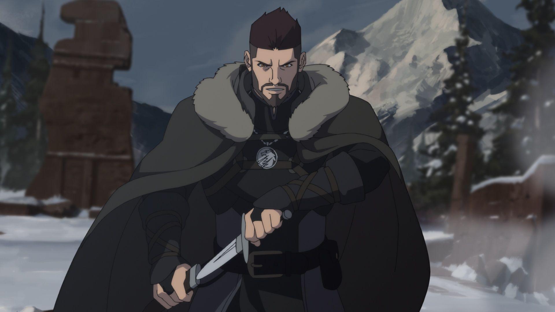 《獵魔士:狼之惡夢》。圖片來源/Netflix