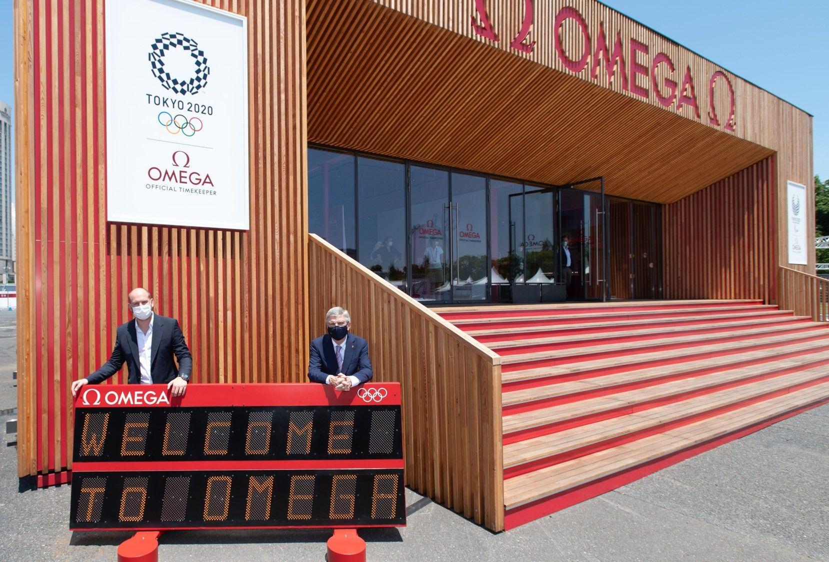 2020 東京奧運現場。
