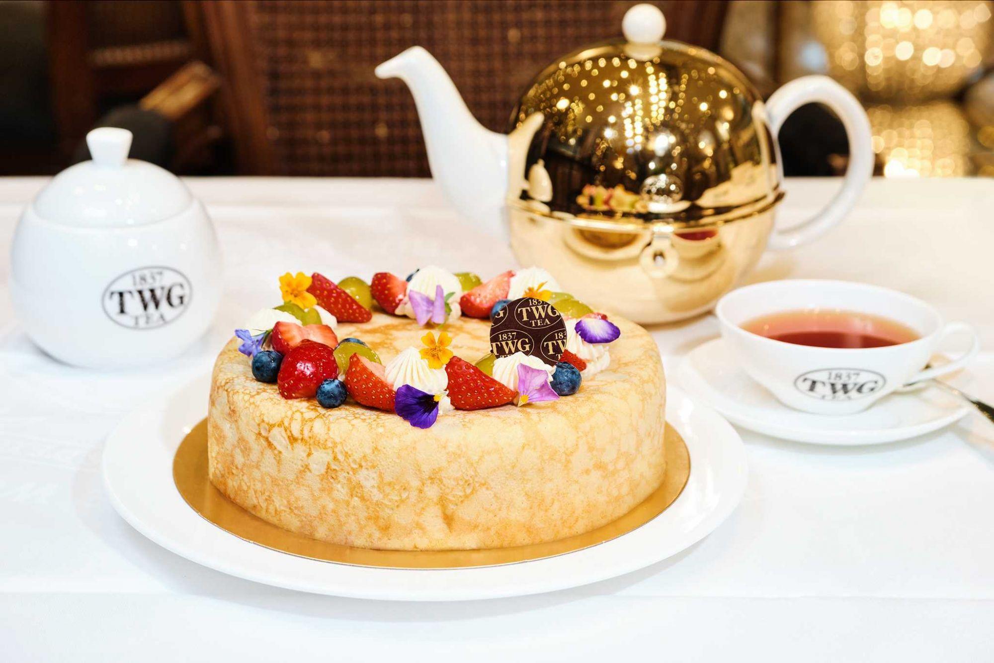 TWG Tea法式波本香草紅茶奶油水果千層