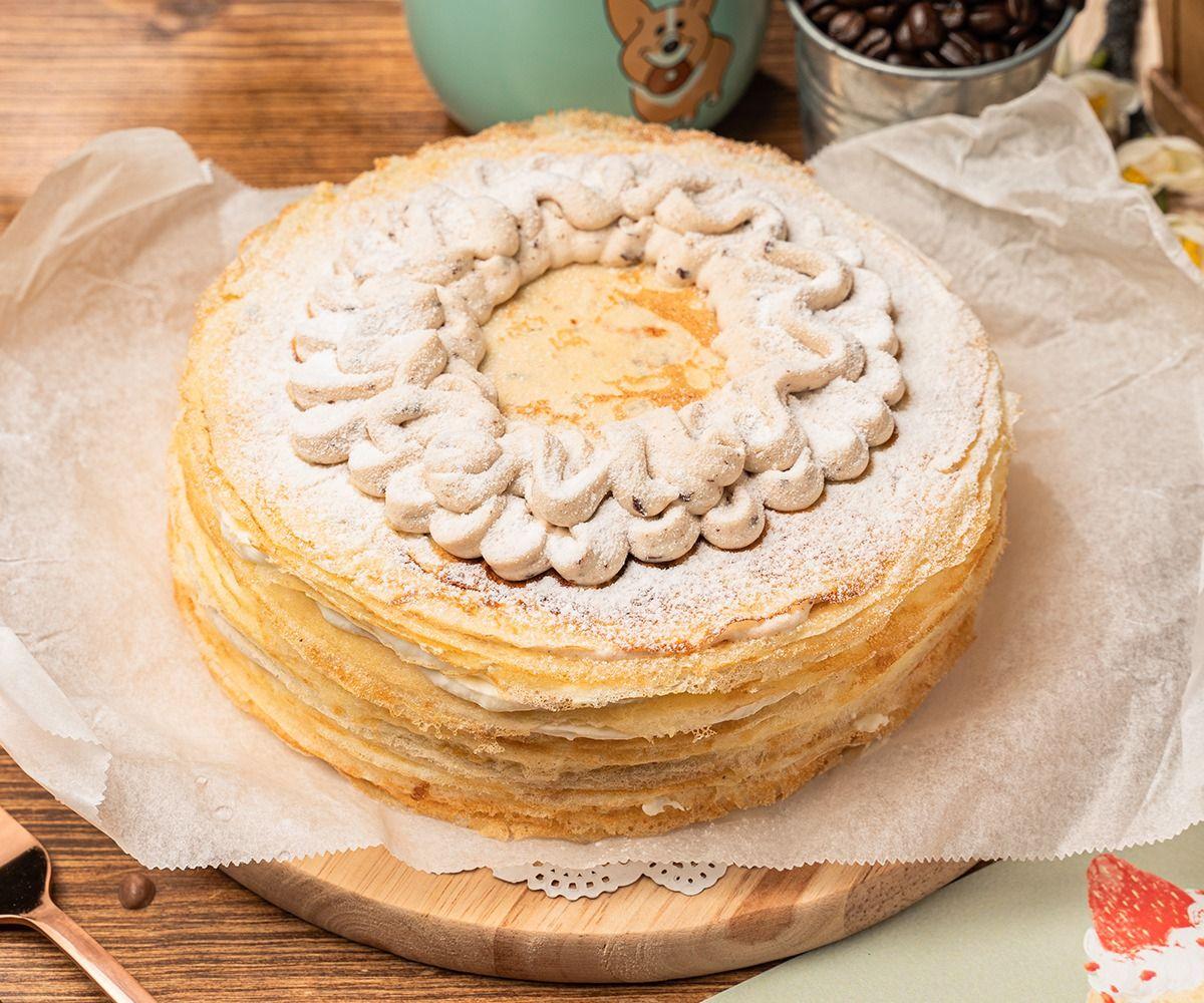 奶油先生手作甜點「酒香蘭姆葡萄千層蛋糕」NT$1,290
