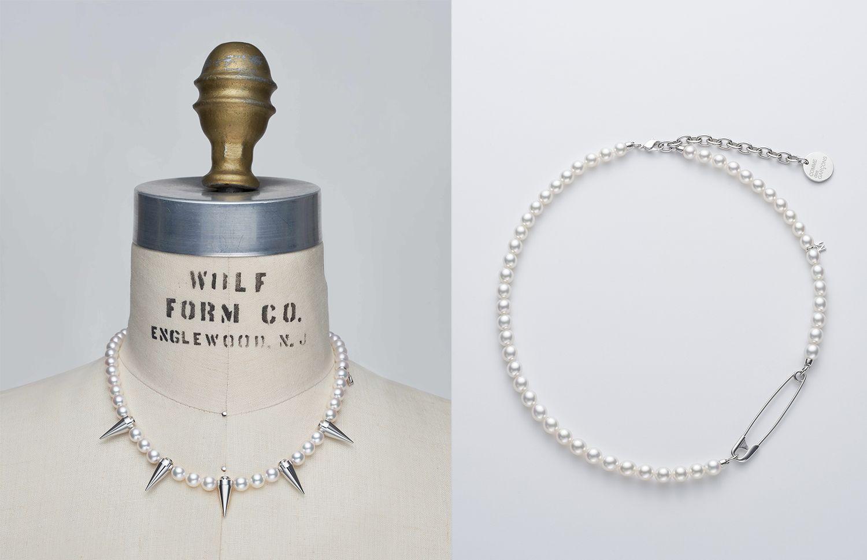 珍珠跨界玩創意!Mikimoto再度攜手川久保玲 Comme des Garçons 推「中性」珠寶