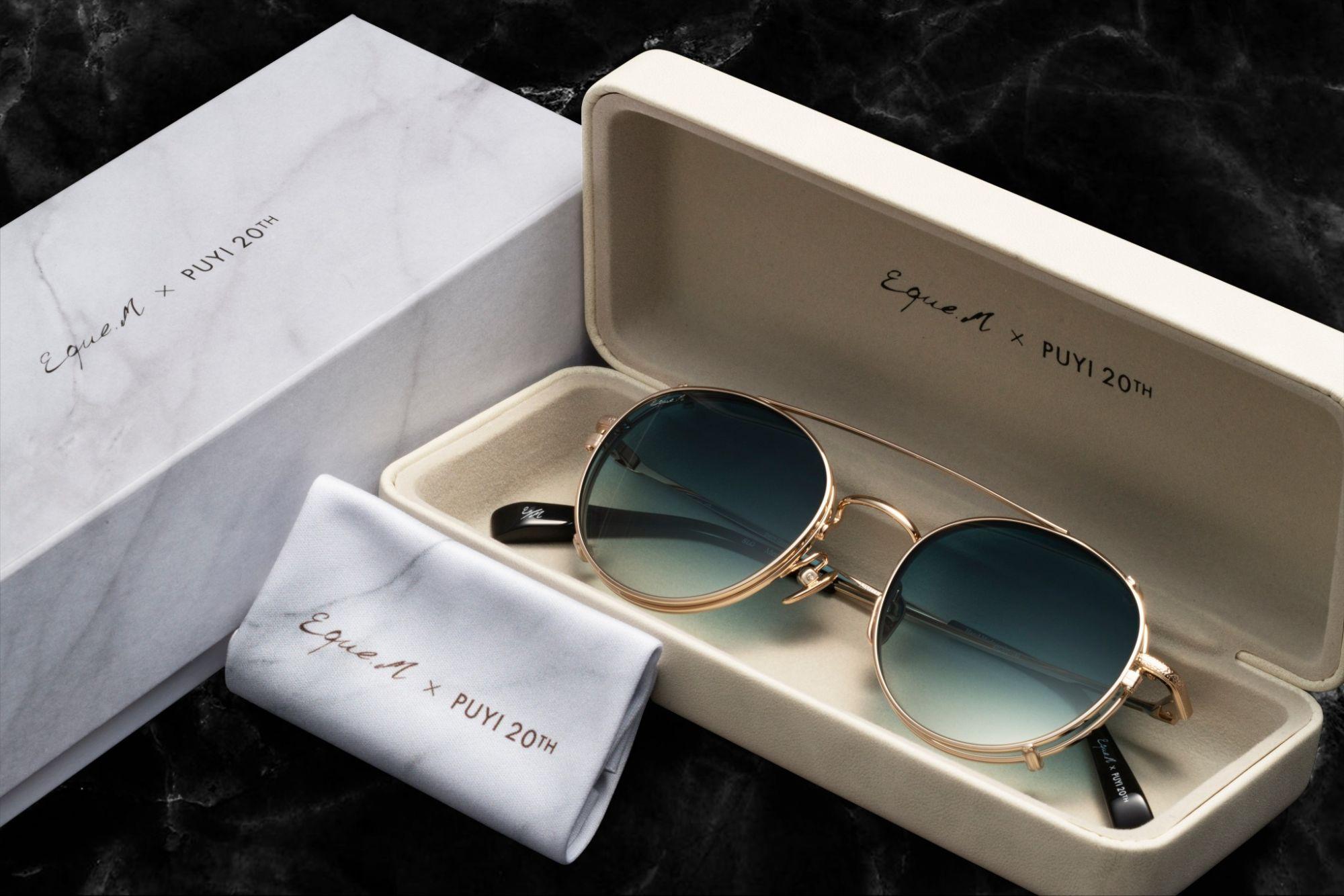溥儀眼鏡父親節限定推出與國際眼鏡設計師品牌LINDBERG聯名款,將經典款式  MERRY PEANUTS 重新詮釋,打造成 MERRY PEANUTS VII 扣夾式太陽眼鏡。