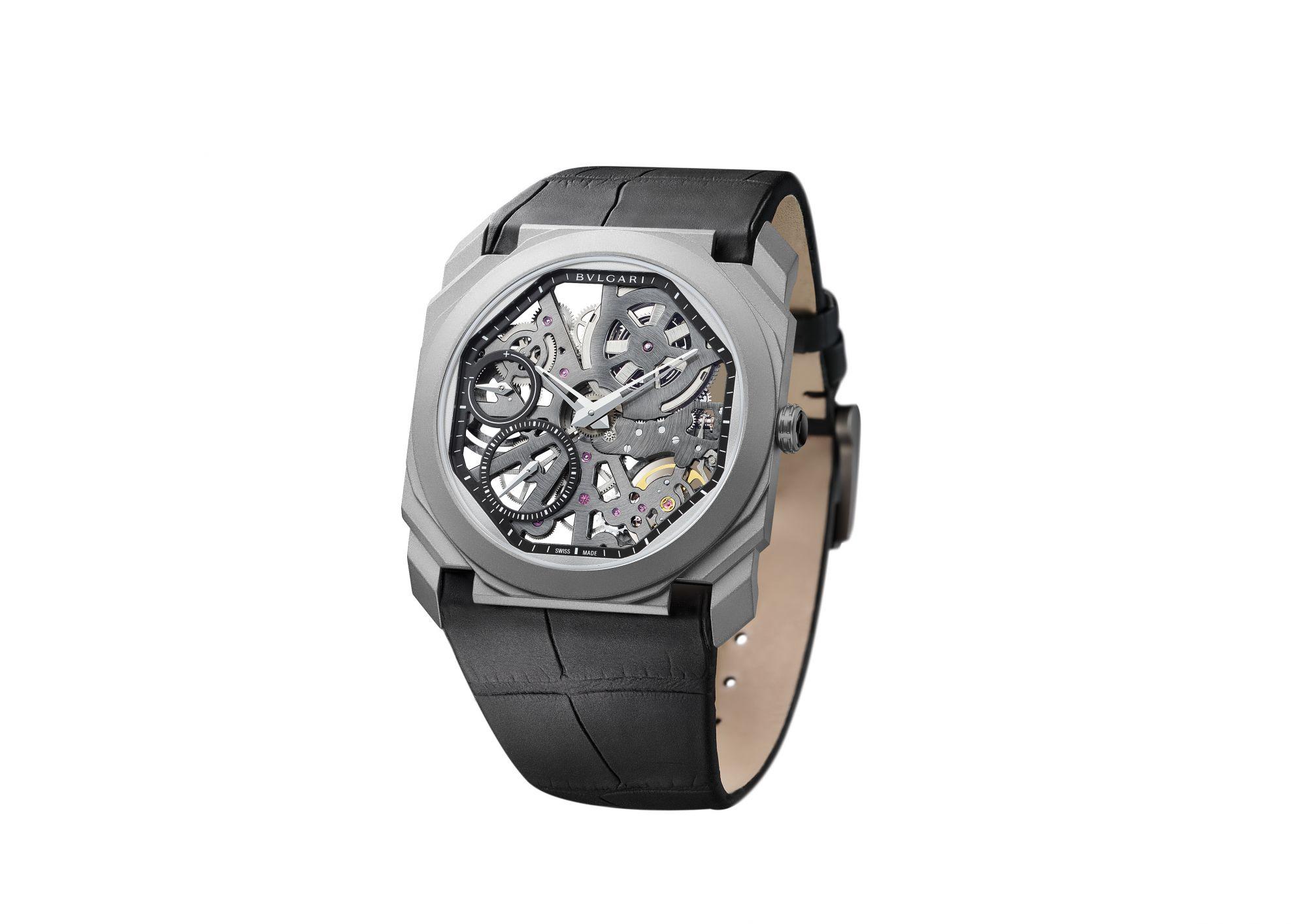 Bulgari OCTO FINISSIMO SKELETON 超薄鏤空腕錶