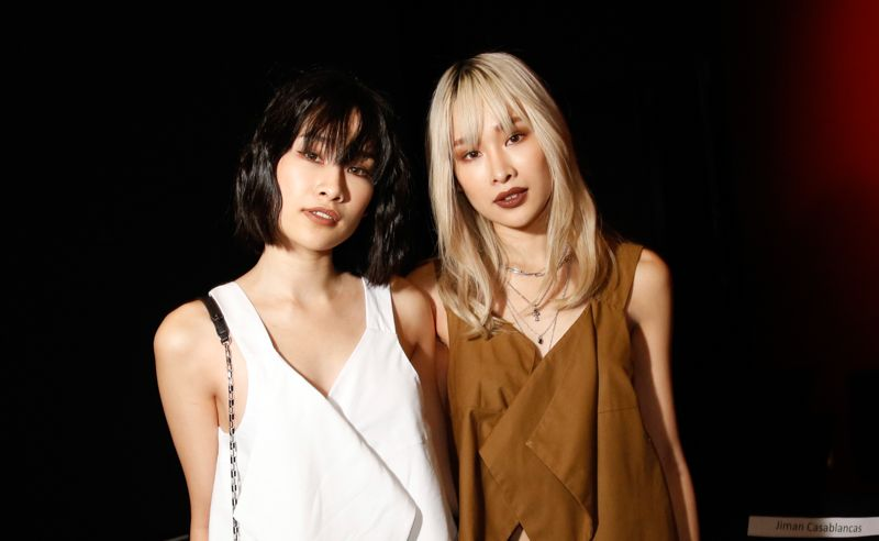 Evangelin Yan and Cherrie Mun