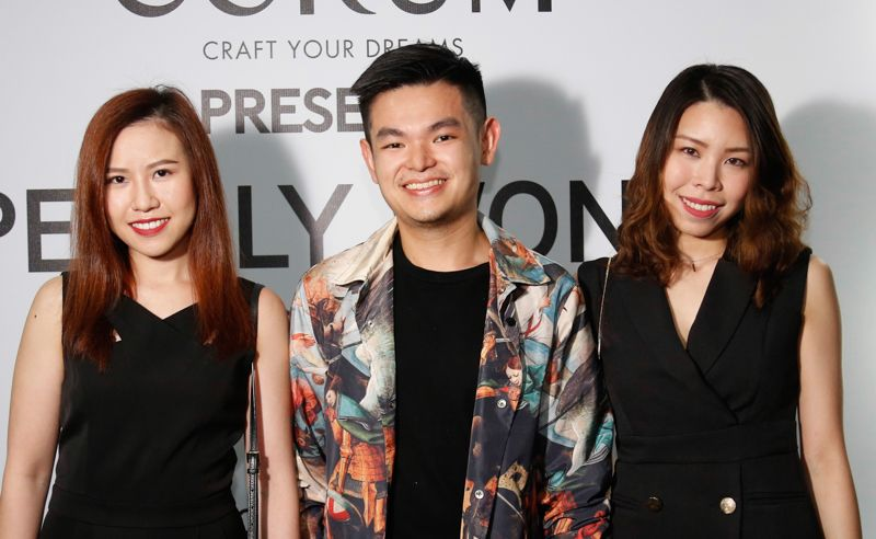 Chloe Chin, Philip Leong and Andrea Chua