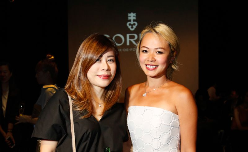 Michelle Chai and Lyn Siew